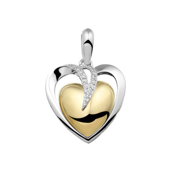 110 SB Silver gold plated